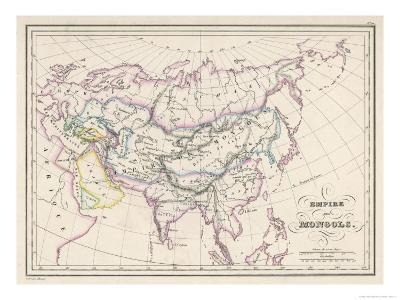 The Mongol Empire at Its Greatest Extent