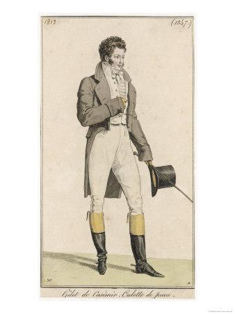 Male Riding Dress 1813