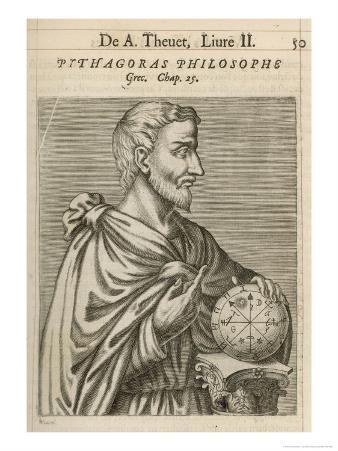 Pythagoras Greek Philosopher and Mathematician
