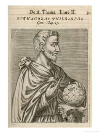 Pythagoras Greek Philosopher and Mathematician