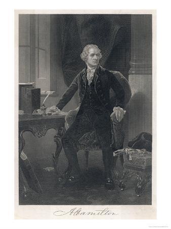 Alexander Hamilton American Statesman