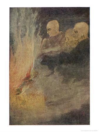 The Death of Siddhartha Gautama Known as the Buddha, The Final Release