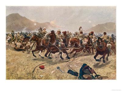Battle of Maiwand Saving the Guns