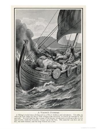 The Funeral of a Viking Chief