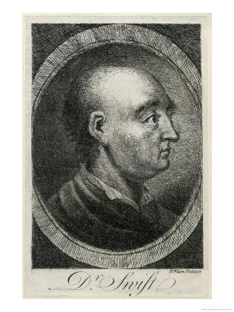 Jonathan Swift Irish Writer Without His Wig
