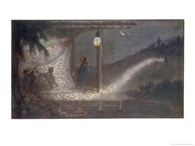 The Spirit of Jimpachi Avenges His Wrongful Death by Manifesting as a Swarm of Fireflies