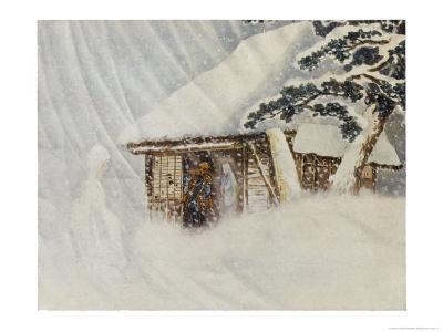Yuki Onna, Japanese Snow Ghost