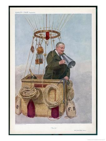 Frank Hedges Butler Motorist and Aviator
