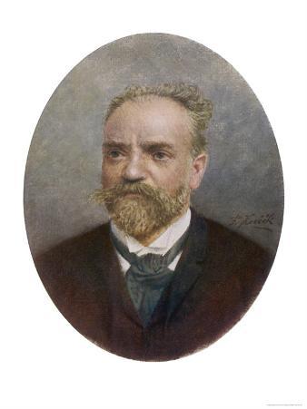 Antonin Leopold Dvorak Bohemian Musician