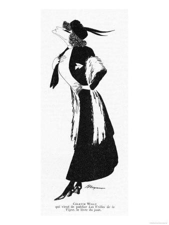 Sidonie-Gabrielle Willy French Novelist: a Caricature