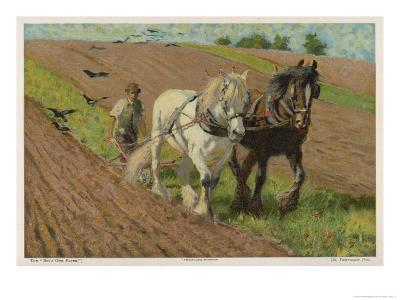 Ploughing with a Pair of Horses