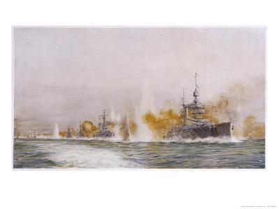 "Hms ""Lion"" Leads the Battle- Cruisers into the Fray at the Battle of Jutland"