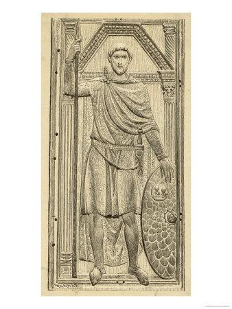 Flavius Aetius Roman Commander in the West Notable for His Defeat of Attila and the Huns