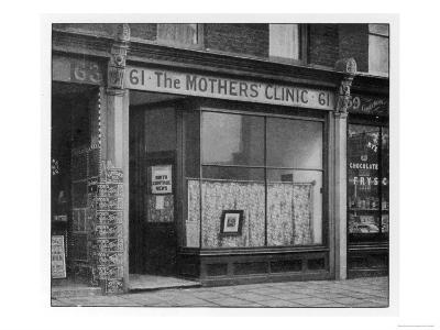 The Exterior of the Original Mothers' Clinic for Constructive Birth Control Founded by Marie Stopes