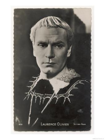 Sir Laurence Olivier in the Role of Hamlet for the Film Version