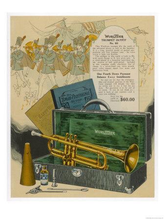 Wurlitzer Trumpet Outfit
