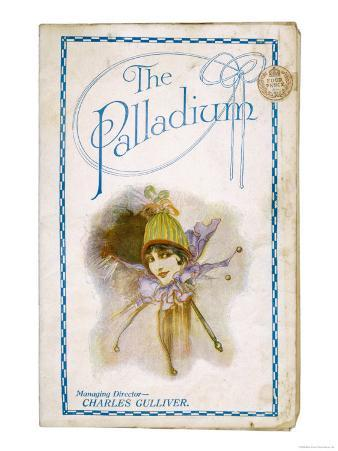 The Cover of a Programme for the Palladium Theatre London