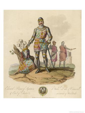 Edward Black Prince of Wales Eldest Son of Edward III
