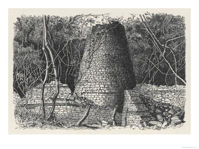 The Massive Conical Tower in the Amazing Iron Age, Site of Great Zimbabwe
