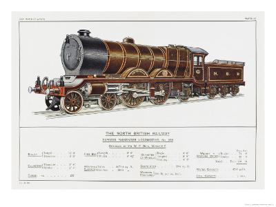 North British Railway Express Loco No 868