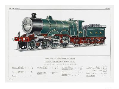 Great Northern Railway Express Loco No 251