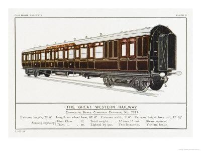 Great Western Railway Corridor Carriage