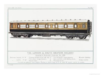 London and South Western Railway Corridor Carriage