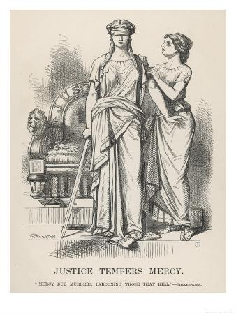 """Henry VI, Justice Tempers Mercy """"Mercy But Murders Pardoning Those That Kill."""", Shakespeare"""