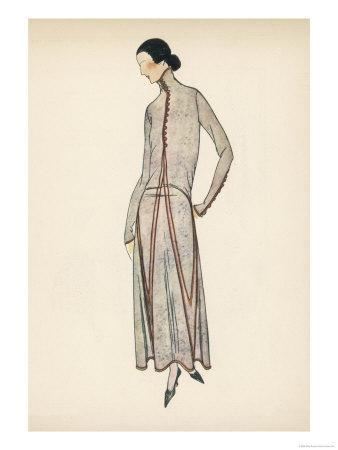 High Neck Dress 1922