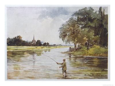 Trout Fishing on the Itchen Hampshire