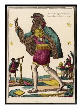 The Celebrated Prophet Nostradamus
