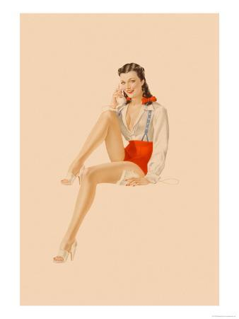 Varga Girl, July 1941