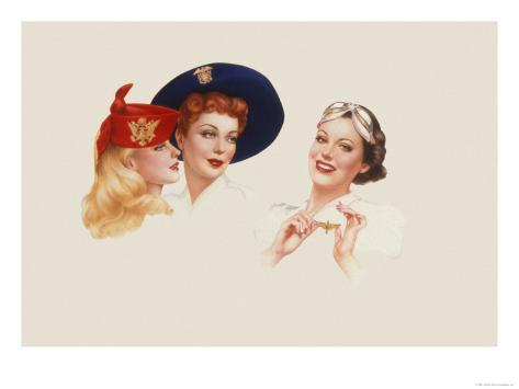 Alberto Vargas Pin Up Girls Giclee Canvas Print Paintings Poster Reproduction
