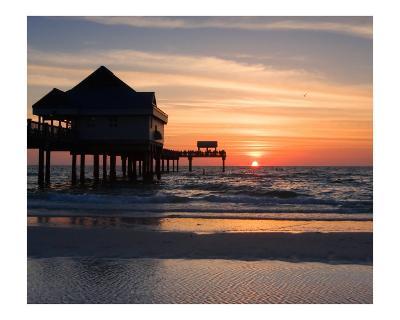 Clearwater Beach Sunset, Florida