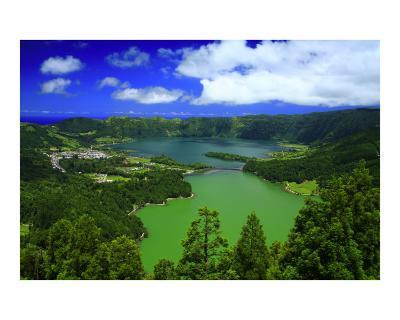 Sete Cidades crater, Azores