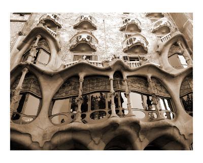 Antoni Gaudi, Casa Batllo, Barcelona, Spain