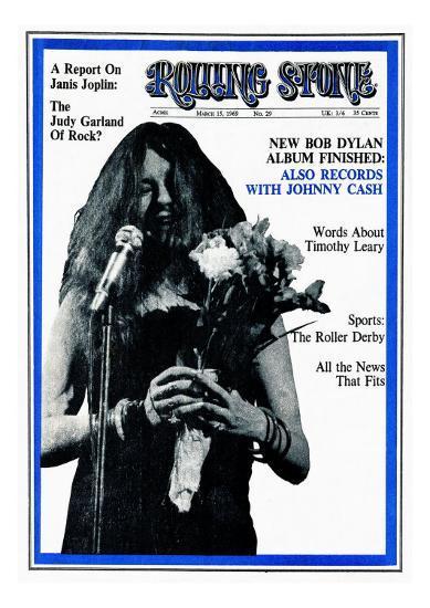 Janis Joplin, Rolling Stone no  29, March 1969