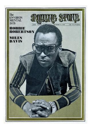 Miles Davis, Rolling Stone no. 48, December 1969