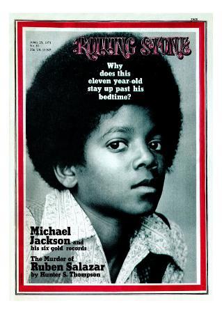 Michael Jackson, Rolling Stone no. 81, April 1971