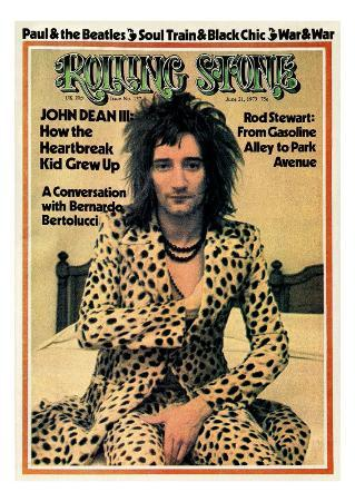 Rod Stewart, Rolling Stone no. 137, June 1973