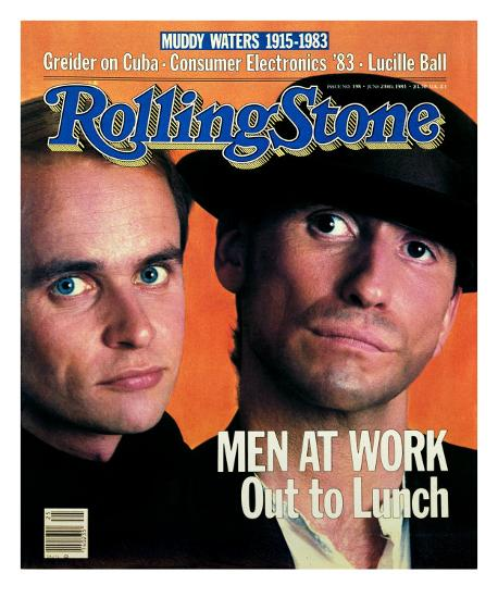 Men at Work, Rolling Stone no  398, June 1983