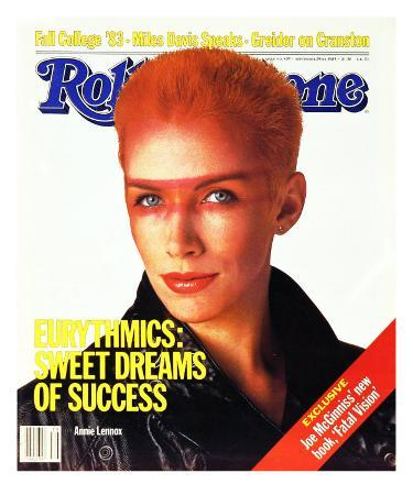 Annie Lennox, Rolling Stone no. 405, September 1983