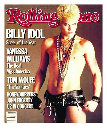 Billy Idol, Rolling Stone no. 440, January 1985