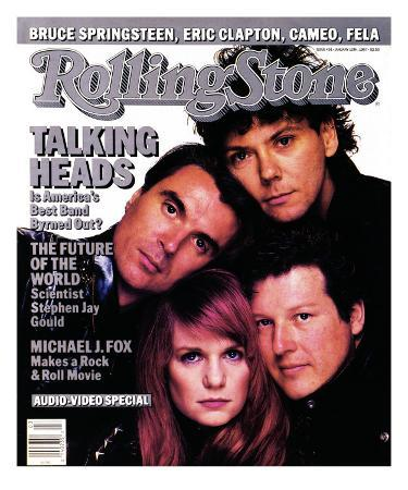Talking Heads, Rolling Stone no. 491, January 1987