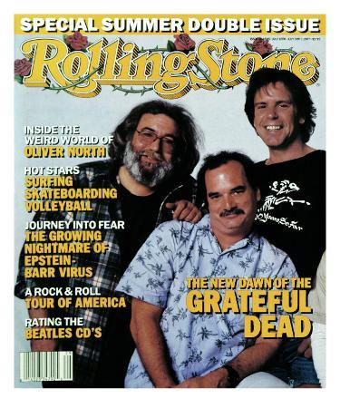 Grateful Dead, Rolling Stone no. 504/505, July 1987