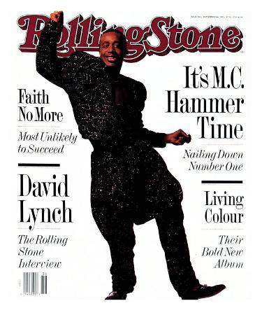 MC Hammer, Rolling Stone no. 586, September 1990