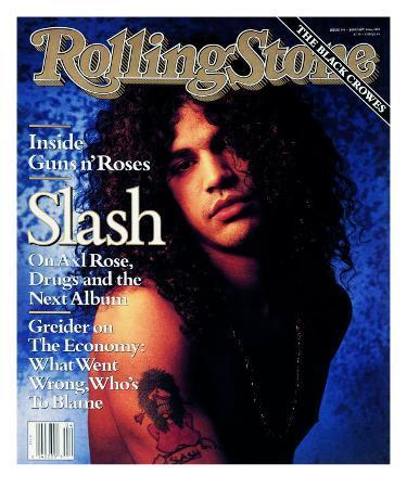 Slash, Rolling Stone no. 596, January 1991