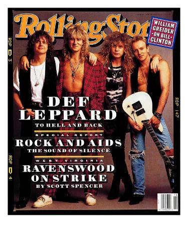 Def Leppard, Rolling Stone no. 629, April 1992
