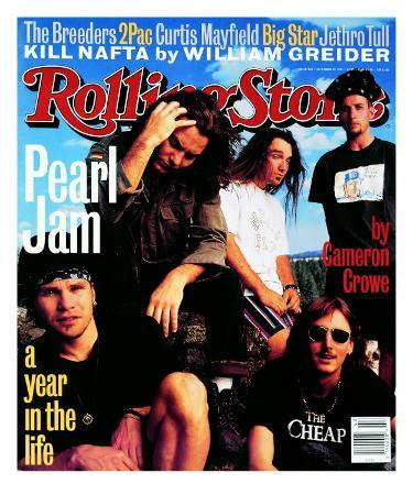 Pearl Jam, Rolling Stone no. 668, October 1993
