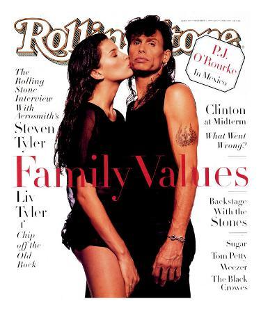 Liv and Steven Tyler, Rolling Stone no. 694, November 1994
